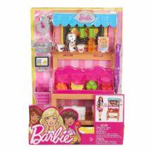 Barbie karrier kiegészítő szettek (zöldségesstand)