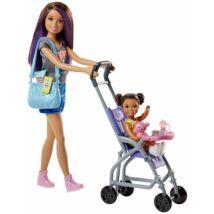 Barbie bébiszitter játékszett (3)