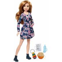 Barbie bébiszitter baba (A)