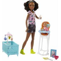 Barbie bébiszitter játékszett (2)