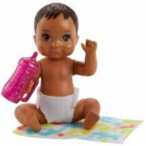 Barbie kisbaba (barna)