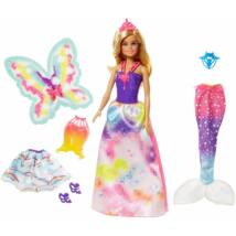 Barbie Dreamtopia - Baba és szett