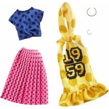 Barbie ruha szettek (2-es csomag, GHX60)