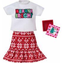 Barbie karácsonyi ruhaszett (GGG52)