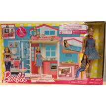 Barbie ház babával