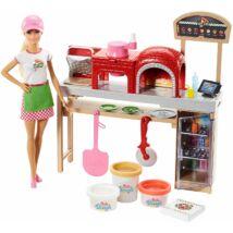 Pizza készítő Barbie
