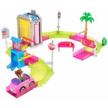 Barbie On The Go autómosó