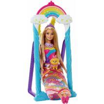 Barbie Dreamtopia hercegnő hintával
