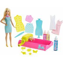 Barbie Crayola színező állomás szőke babával