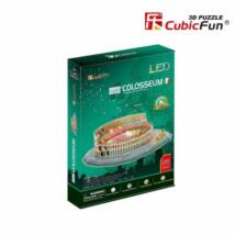 3D puzzle Colosseum LED világítással (185 db-os)