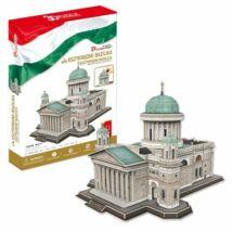 3D puzzle Esztergomi Bazilika (111 elem)+ 1 db Hősök tere puzzle ajándékba