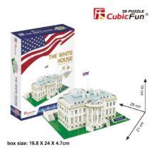 3D puzzle Fehér Ház (64 db-os)