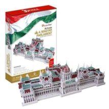 3D puzzle Magyar Parlament (237 elem)+ 1 db Hősök tere puzzle ajándékba