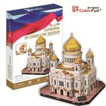 3D puzzle Megváltó Krisztus-székesegyház (127 db-os)