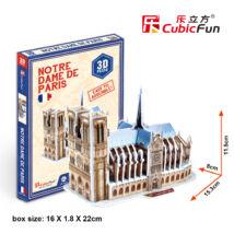 3D puzzle Notre Dame (39 db-os)