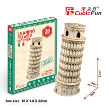 3D puzzle Pisa-i ferde torony (8 db-os)