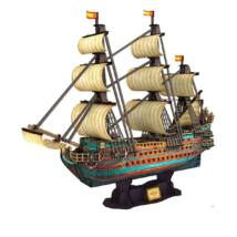 3D puzzle San Felipe csatahajó (248 elem)