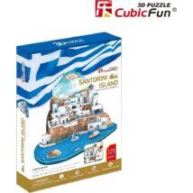 3D puzzle Santorini (129 db-os)