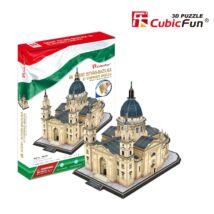3D puzzle Szent István Bazilika (152 elem) + 1 db Hősök tere puzzle ajándékba