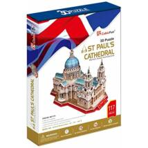 3D puzzle Szent Pál-székesegyház (107 elem)