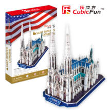 3D puzzle Szent Patrik-katedrális (117 db-os)