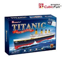 3D puzzle Titanic  (113 db-os)