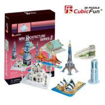 3D puzzle Világhírű épületek #2 (143 elem)