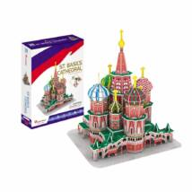 3D puzzle Szent Vazul katedrális (92 db-os)
