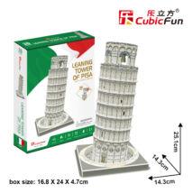 3D puzzle Pisai ferde torony (27 elem)