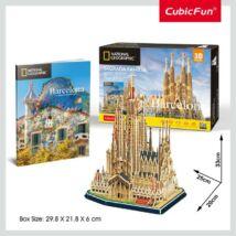 3D puzzle City Trav.Barcelona (184 elem)