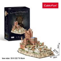 3D puzzle Trónok harca Vörös Erőd (260 elem)