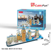 3D puzzle City Line London (107 db-os)