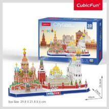 3D puzzle City Line Moszkva  (204 elem)