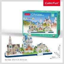 3D puzzle City Line Németo-Bajoro. (178 elem)