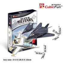3D Puzzle F-117 Nighthawk és F/A-18 Hornet