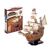 3D puzzle Santa Maria (113 db-os)
