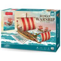 3D puzzle római hadihajó (218 elem)