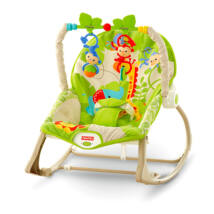 Fisher Price - Kisállatos hintaszék