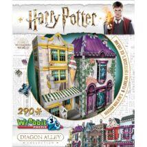 3D habszivacs puzzle Harry Potter-Madam Malkin talárszabászata és fagylaltszalon