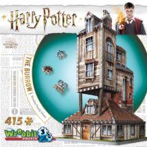 3D habszivacs puzzle Harry Potter- Az odú(Weasley-ék háza)