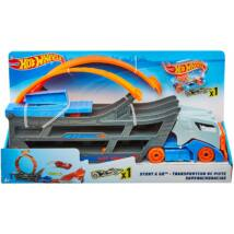 Hot Wheels karambol kamion hurokkal