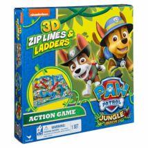 Mancs Őrjárat - Jungle kígyók és létrák 3D társasjáték