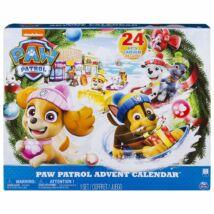Mancs őrjárat Adventi naptár + ajándék kifestő