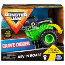 Monster Jam-Felhúzós Kisautók-Grace Digger