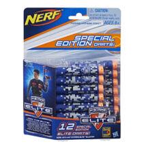NERF Nstrike Elite Utántöltő (12 db kék-narancs szivacslövedék)