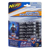 NERF Nstrike Elite Utántöltő (12 db szürke szivacslövedék)
