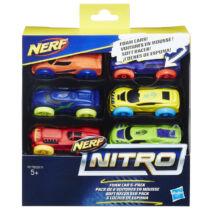 NERF Nitro - Kisautó utántöltő (6 db, A változat)