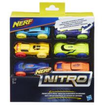 NERF Nitro - Kisautó utántöltő (6 db, B változat)