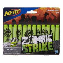 NERF Zombie - Utántöltő csomag (12 db)