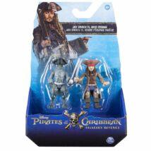 A Karib-tenger kalózai játékfigurák: Jack Sparrow és kísértet